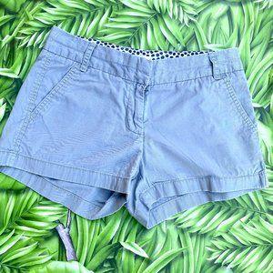 🍍 J. Crew Chino Broken In Gray Shorts Size 2 🍍